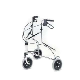 2320 Tri-Wheel Walker with Loop Brakes