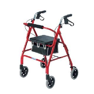 2462 Lightweight 4 Wheel Rollator