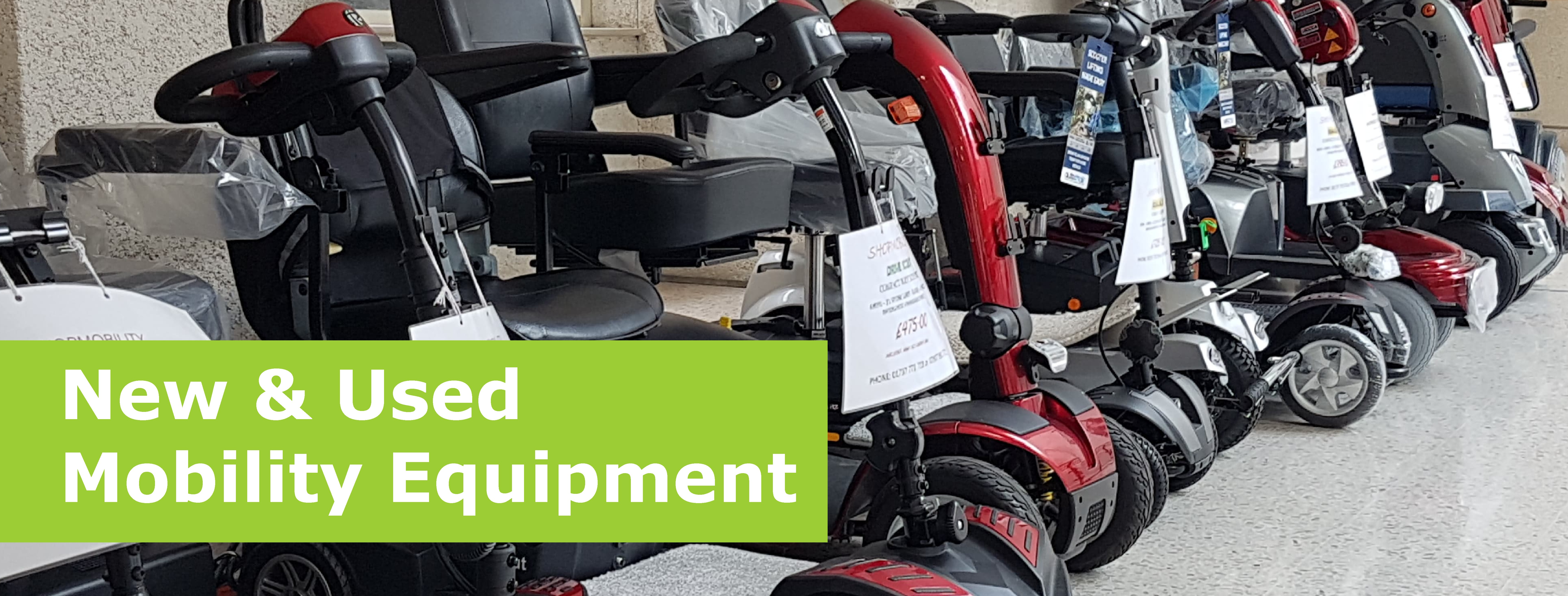New and used mobility equipment